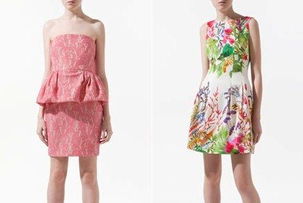 Colectia haine Zara primavara vara 2012