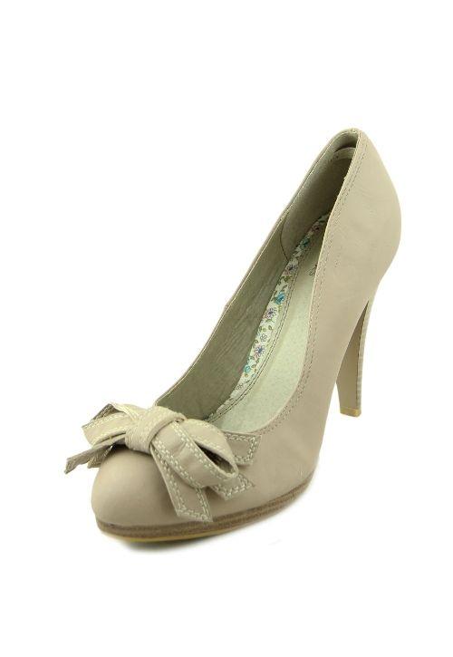 Pantofi cu toc inalt eleganti, cu funda