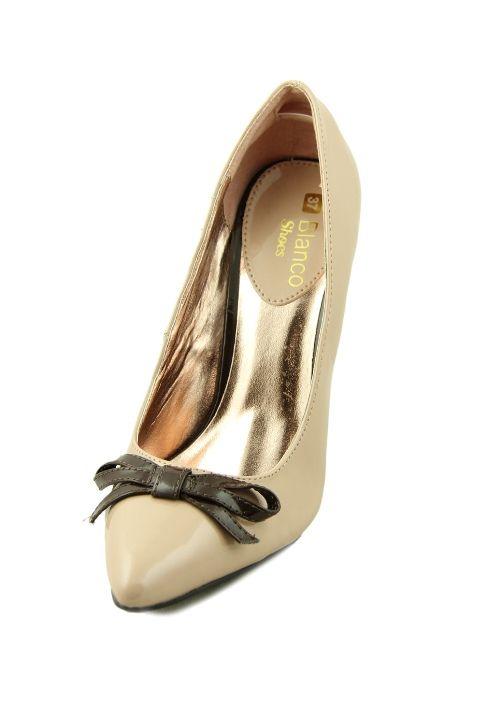 Pantofi cu toc inalt eleganti, cu funda, pentru seara