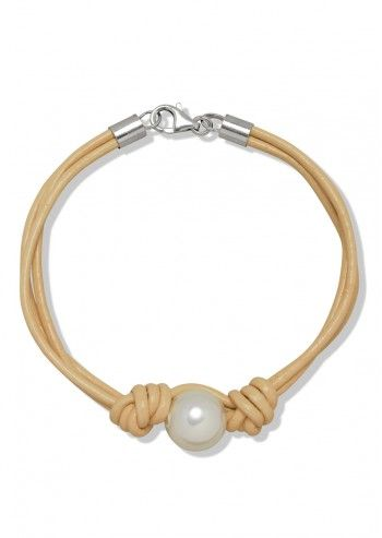 Finelli, Mya White Pearl Bracelet