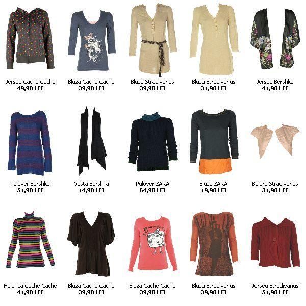 Bluze Zara, Bershka