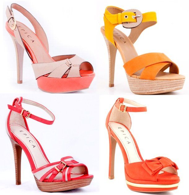 Sandale elegante cu platforma Epica
