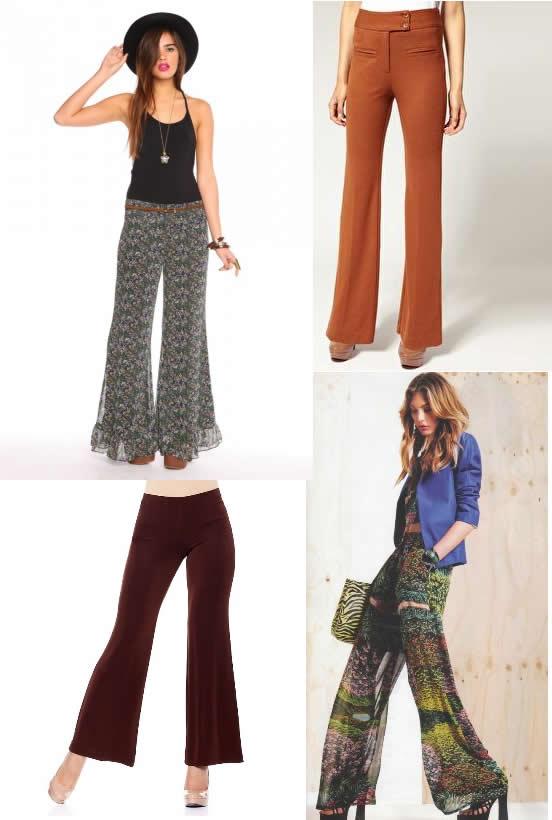 Modele de pantalonii dama evazati