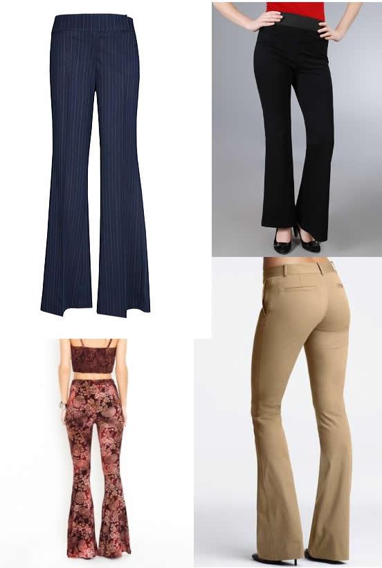 Pantalonii evazati