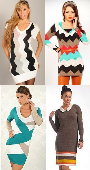 Rochii tricotate - alternativa pentru tinutele de iarna