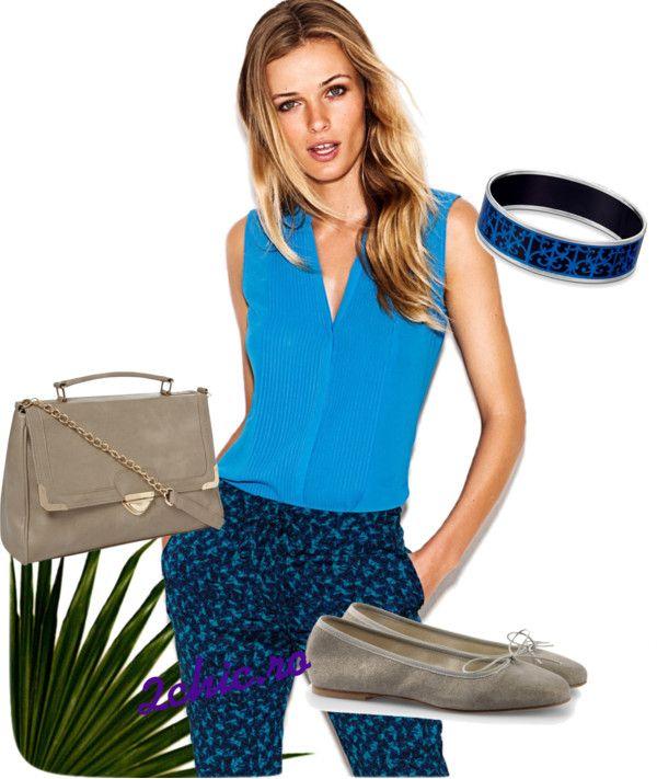 Bluza albastra de la H&M
