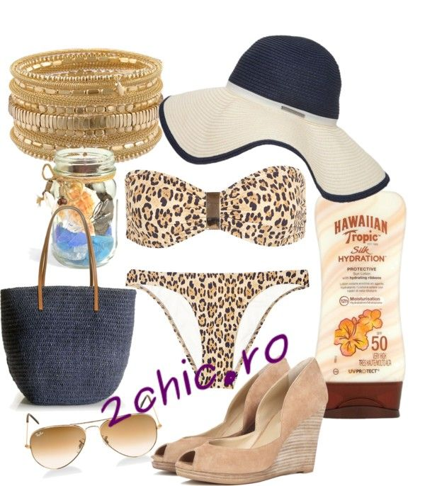 Costum de baie animal print