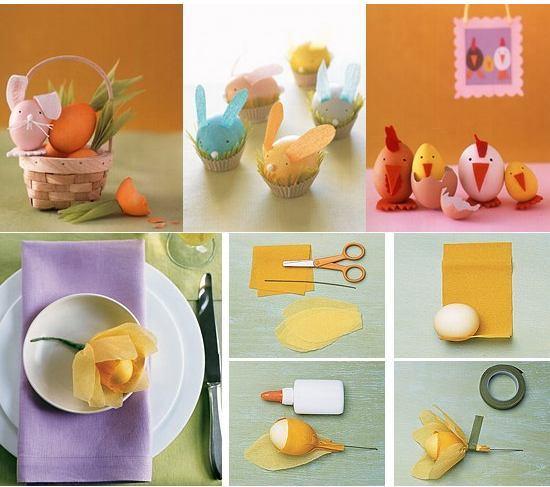 Cum faci decorarea oualor de Paste placuta pentru copii