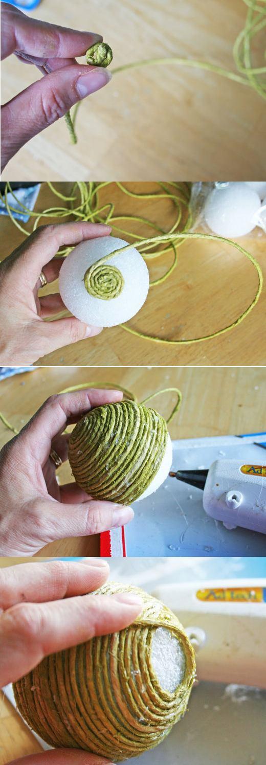 Cum faci singur globuri decorative