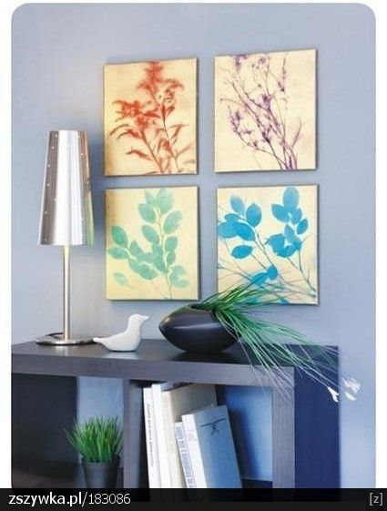 Cum faci singur tablouri folosind frunze si crengute