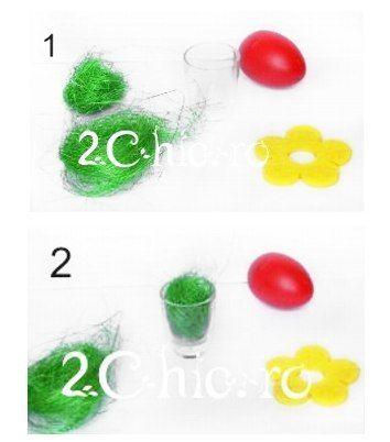 Cum faci usor un suport de oua pt. Paste