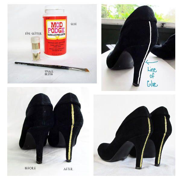 Cum transformi pantofii vechi