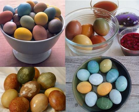 Cum vopsesti ouale de Paste natural