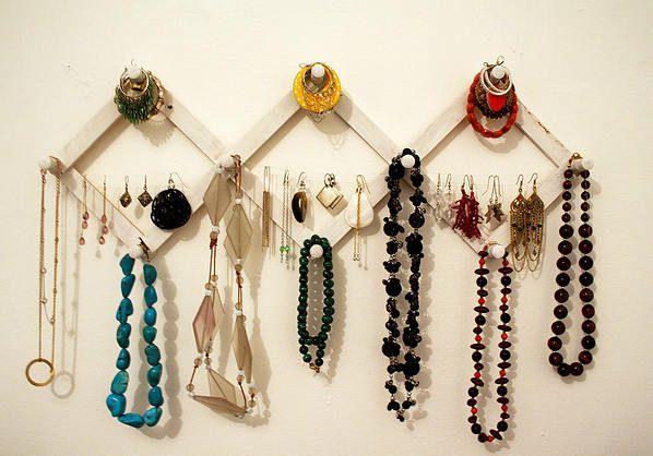 Idei DIY de suporturi de bijuterii