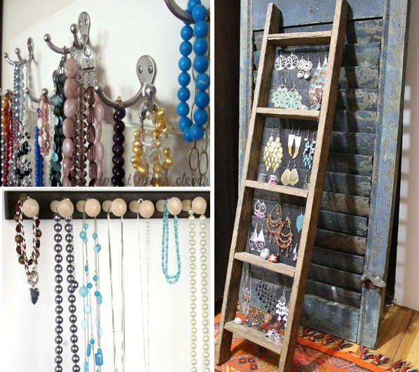 Idei pentru pastrarea bijuteriilor