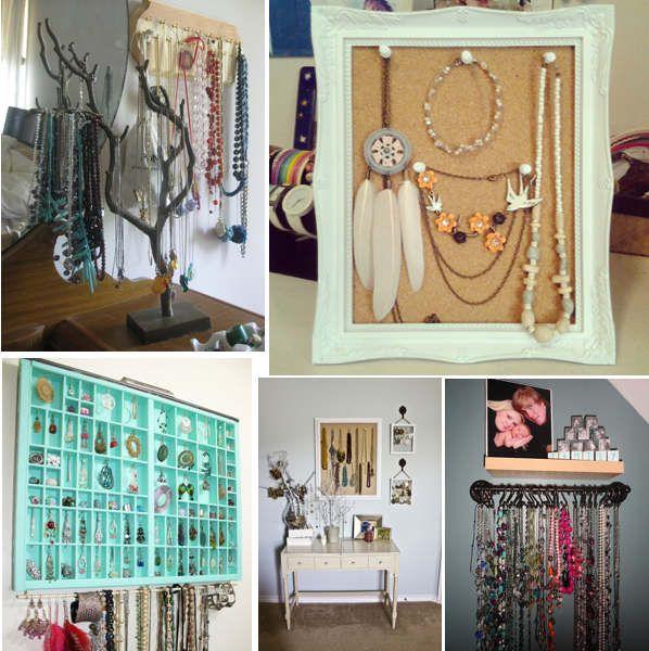Recicleaza obiecte pentru depozitarea bijuteriilor