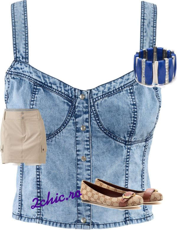 Top jeans de la H&M