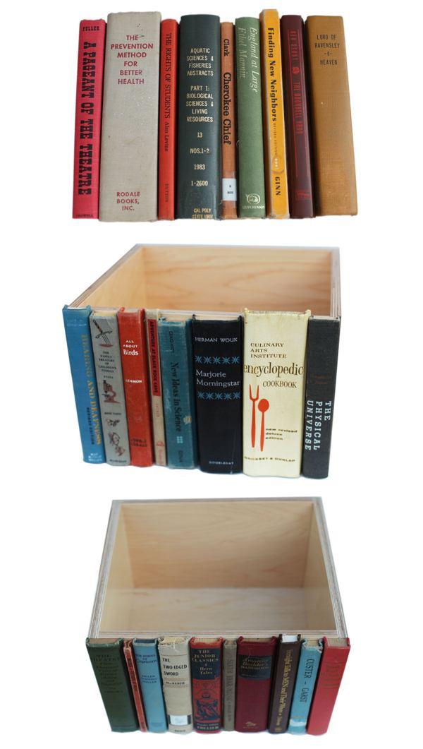 Cutia secreta din biblioteca