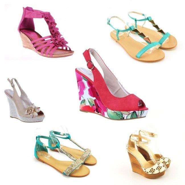 Sandale comode pentru o nunta de vara afara