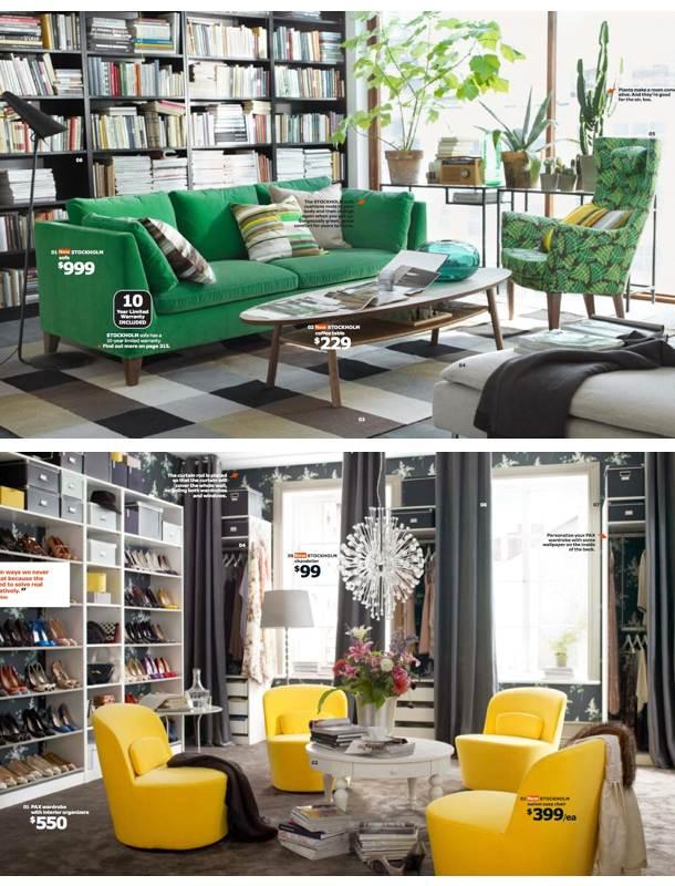 Catalog Ikea  Romania 2014 garderoba sufragerie