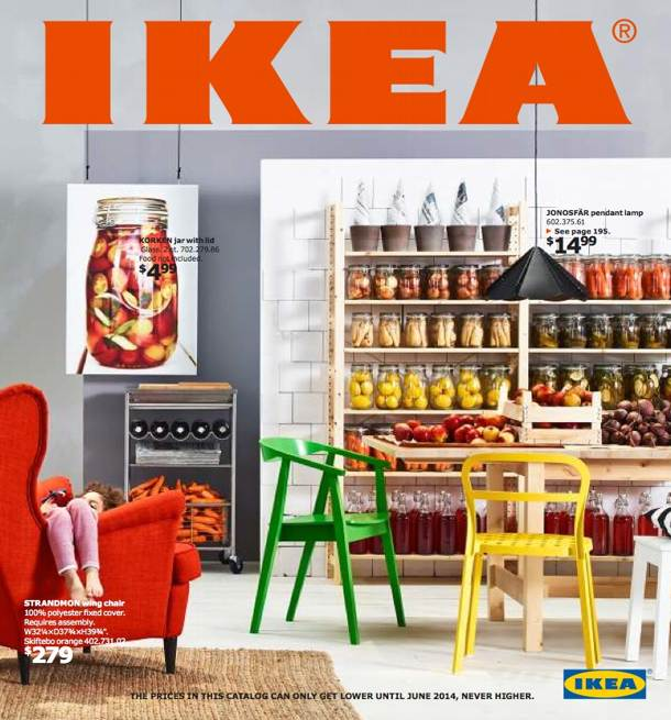A aparut Catalogul Ikea 2014 online