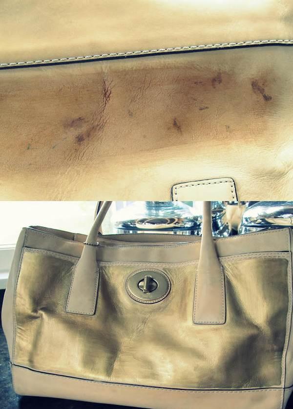 Cum repari o geanta zgariata