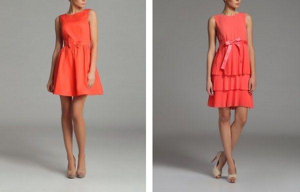 Rochii orange, corai de purtat cand esti bronzata