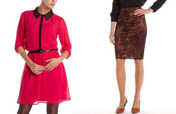 Elemente baroc in tinute, haine femei pentru toamna iarna