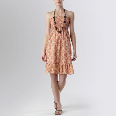 Rochie bustieră imprimată BEACH ce se poate purta ca rochie sau ca fustă