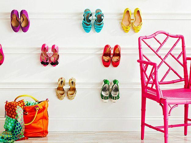 Idei chic pentru pastrarea pantofilor