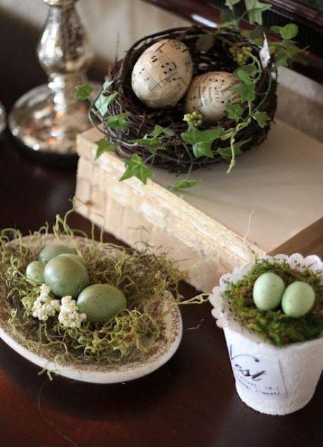 cuiburi cu oua in ghiveci si platou
