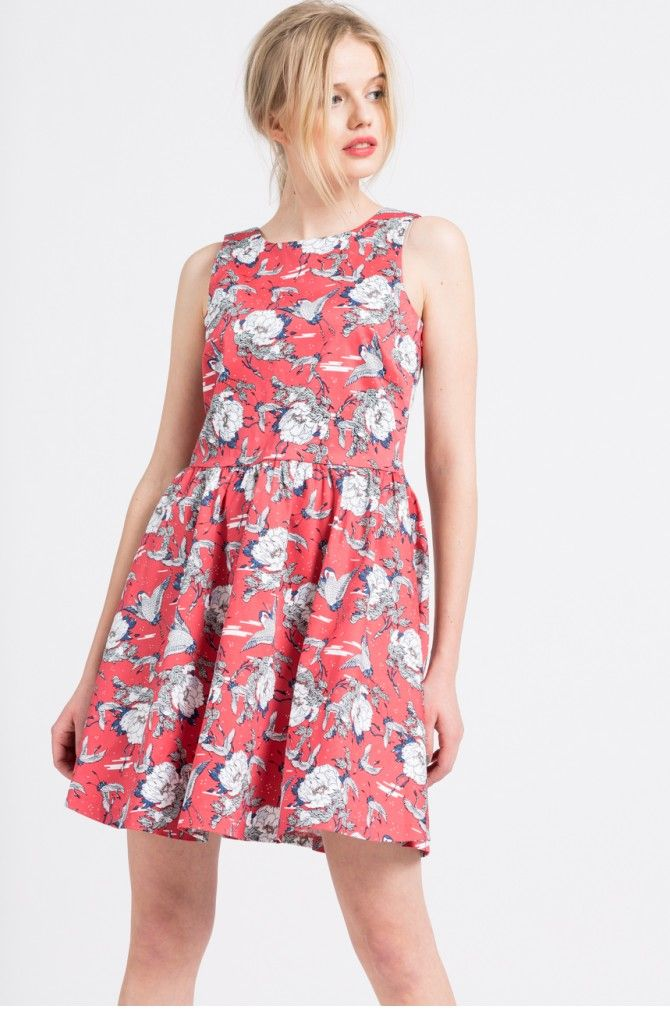 rochie-clos-cu-imprimeu-floral