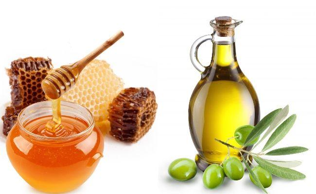 Masca cu miere si ulei de masline
