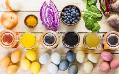 Cum poti sa vopsesti ouale de Paste natural