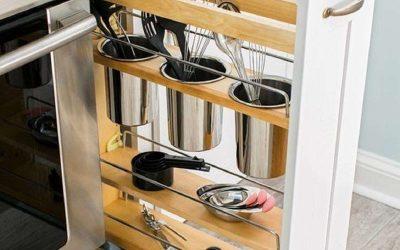 10 idei practice pentru organizarea unei bucatarii mici