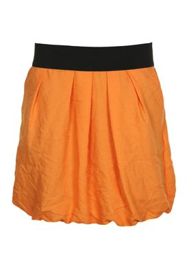 Fusta mini Zara portocalie