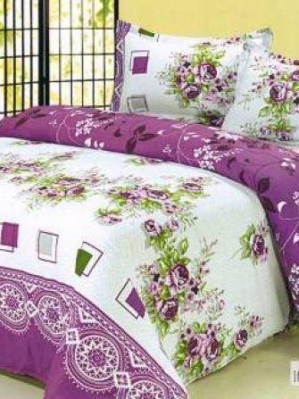 Lenjerie de pat cu motive florale