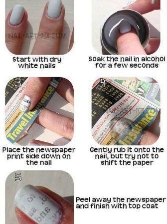 Cum faci litere imprimate pe unghii