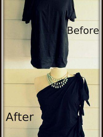 Cum modifici un tricou