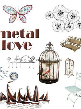 De ce ne plac decoratiunile din metal