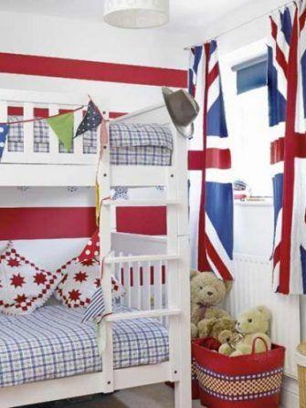 Tema steagurilor pentru camerele de copii