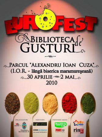 Târgul Eurofest, Biblioteca de Gusturi, 30 aprilie - 2 mai