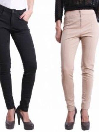 Jeans si pantaloni Mango pentru toamna iarna