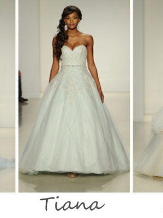 Nunti de basm Disney, colectia de rochii de mireasa Alfred Angelo 2015