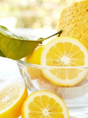 Solutie organica de curatare de uz casnic cu lămâie