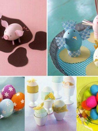 Activitati pentru copii: decorarea oualor