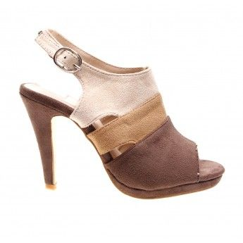 Sandale de dama cu toc inalt